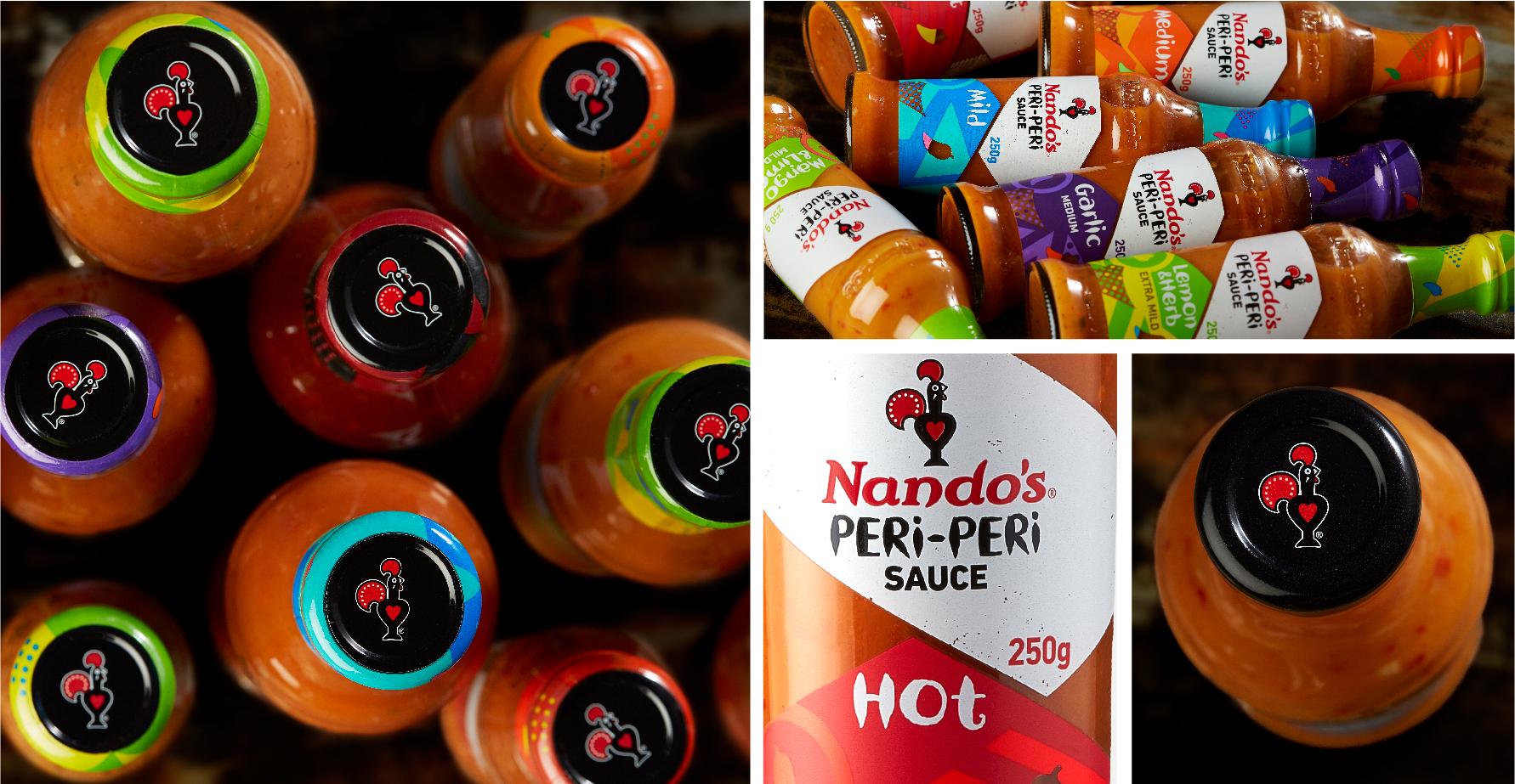 Nando's PERi-PERi sauces