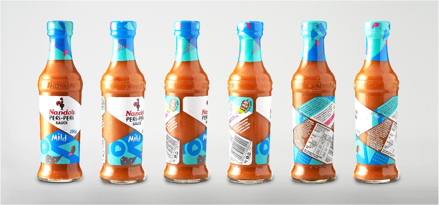 Nando's PERi-PERi sauce new
