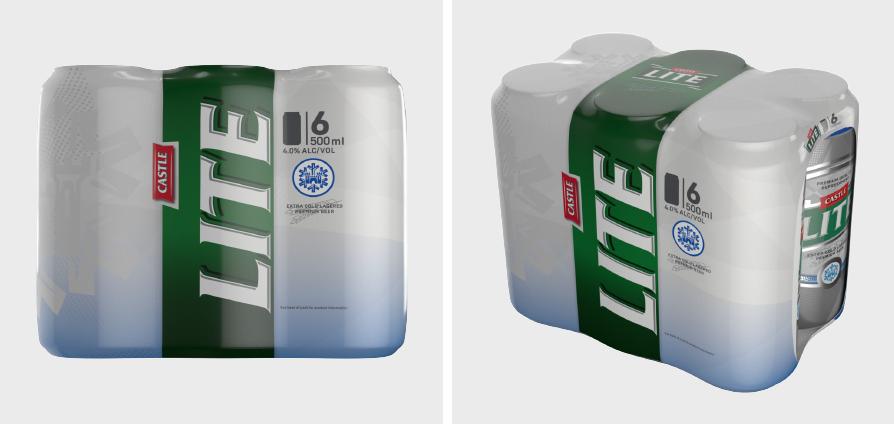 Castle Lite Packaging